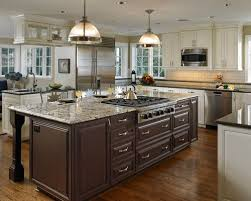 kitchen island with cooktop and seating island cooktop houzz