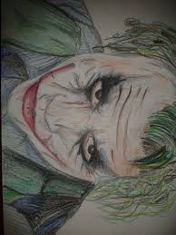 the joker in pencil crayon by smezmond on deviantart
