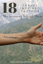 travel meaning images Ink redible travel blogger tattoos the meaning behind them jpg