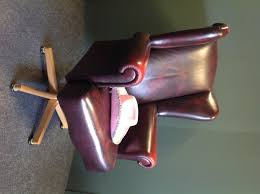 Second Hand Leather Armchair Wing Back Chair Second Hand Second Hand Household Furniture Buy