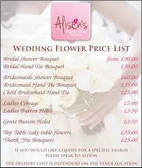 wedding flowers quote weddings alison s flower shop florist dawlish