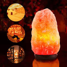 Himalayan Salt Lamp Natural Himalayan Salt Lamp Air Purifier Crystal Rock Healthy