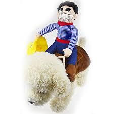 Halloween Costume Large Dogs Riding Horse Dog Cowboy Costume Hat Small Dog Large Dog