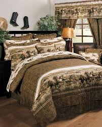 new western rustic country wild horses bedding bedroom comforter