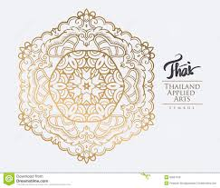 Thailand Wedding Invitation Card Thai Art Element For Design Stock Vector Image 55627618