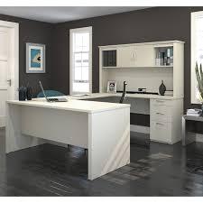 bestar logan u shaped desk free shipping today overstock com