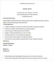 Retail Pharmacist Resume Sample by Pharmacist Resume 9 Free Word Pdf Documents Download Free