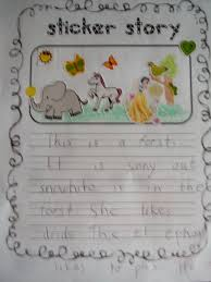 free writing paper for first grade sarah s first grade snippets sticker story freebie a favorite sarah s first grade snippets sticker story freebie a favorite center among students