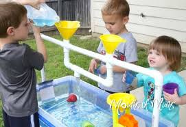 diy sand and water table pvc kids love playing with sand and water and this diy table made from