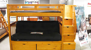 futon wooden loft bed with desk and futon 31 free diy bunk bed