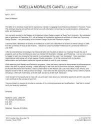 Architectural Resume For Internship Architectural Designer Cover Letter