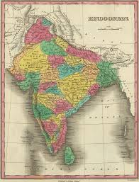 North India Map by Map Of Hindostan Or India 1831 By Anthony Finley Source Http