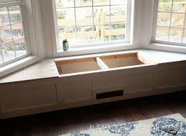 Window Storage Bench Seat Plans by We Are Slowly Making Our New House A Home And Lately We Have Been