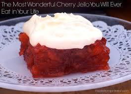 the most wonderful cherry jello