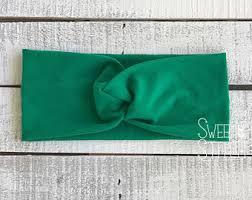 green headband green headband etsy