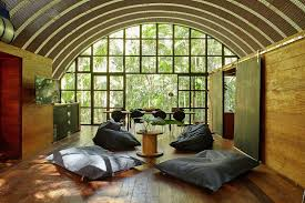arched cabins arca the modular house for rest and creative work