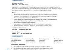 lofty inspiration chef resumes 1 resume sample examples sous jobs