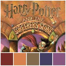 harry potter u0026 sorcerer u0027s stone color palette tastefully