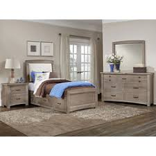 Driftwood Bedroom Furniture by Transitions Driftwood Oak Collection Home Gallery Stores