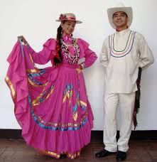 traditional costumes of panama and some central south american