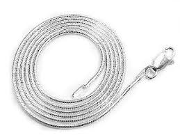 sterling silver snake necklace images 1mm nickel free sterling silver italian snake chain jpg