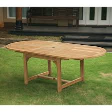 extendable teak dining table grade a piemonte teak oval extendable dining table sam s club