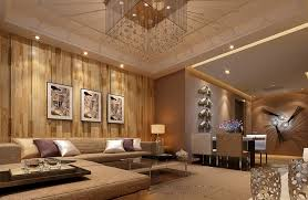 Chinesestylelivingroomwoodenwall Interior Designer - Wood living room design