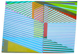 optical illusion paintings edges series xuan chen contemporary