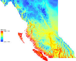 Map Of Bc Climatebc Map