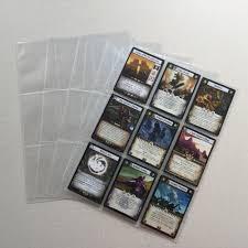 9 pocket pages aliexpress buy 20 100 pieces transparent storage album pages