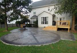 Concrete Patio Design Pictures Concrete Patio Designs Frantasia Home Ideas