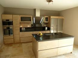 cuisine bois et inox modele de cuisine provencale 9 cuisine design graveson bois ilot