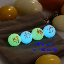 colorful glow in the dark stones donut quare ball crystal point