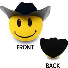 cowboy and antenna topper cars cowboy and