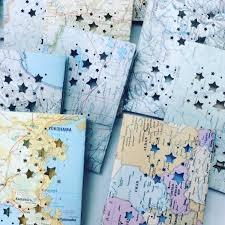 Travel Decor by 20 Mini Map Luminaries Travel Decor Map Escort Cards Travel