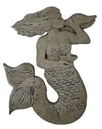 Mermaid Home Decor Mermaid Figurehead Unique Mermaids Mermaid Gifts Mermaid Home