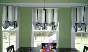 kitchen bay window curtain ideas decoration home curtain ideas