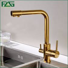 aliexpress com buy flg 100 copper gold finished swivel drinking