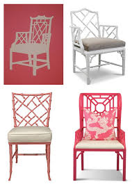 pink color combination chair design ideas simple chinoiserie chair design chinoiserie