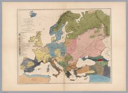 Historical Maps Of Europe by Ethnographical Map Of Europe In The Earliest Times David