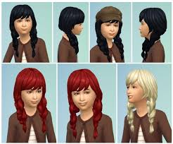 childs hairstyles sims 4 86 best child hairstyles images on pinterest 4 kids sims and