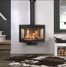 3 Way Wood Fireplace