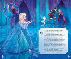 disney frozen player storybook book by disney frozen