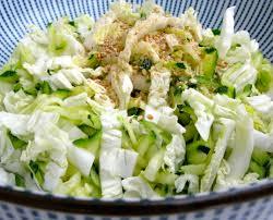 cuisiner le chou chinois bretzel café crème salade de chou chinois