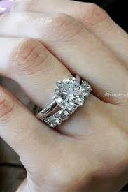 wedding band with engagement ring 30 best diamond wedding rings for real women wedding forward