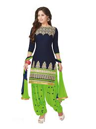 light green dress with sleeves pshopee navy blue light green cotton reshim embroidery unstitched