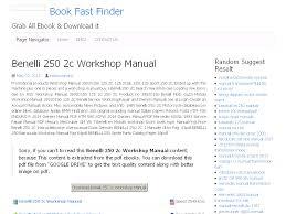 31 benelli 250 2c workshop manual