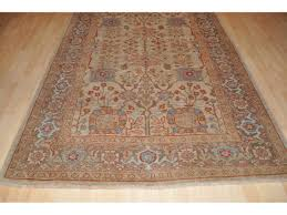 Turquoise Brown Rug Authentic Persian Mahal Made Out Of 100 Natural Wool U0026 Natural