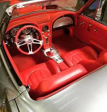 Custom Corvette Interior 1960 Chevrolet Corvette Convertible Custom Yellow And Tan And
