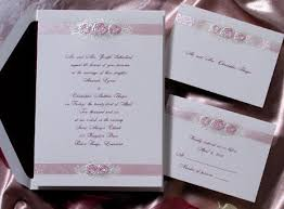 cheapest wedding invitations discount wedding invitations girly and design white and pink